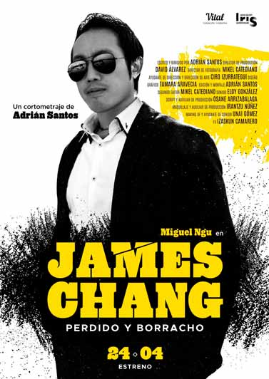 JAMES CHANG PERDIDO Y BORRACHO