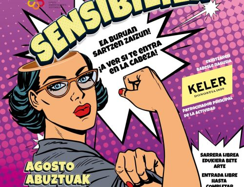 Korterraza Sensibiliza: Ea buruan sartzen zaizun!