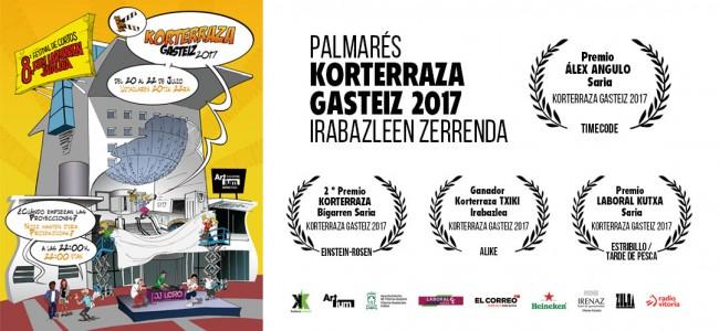 Palmarés Korterraza Gasteiz 2017