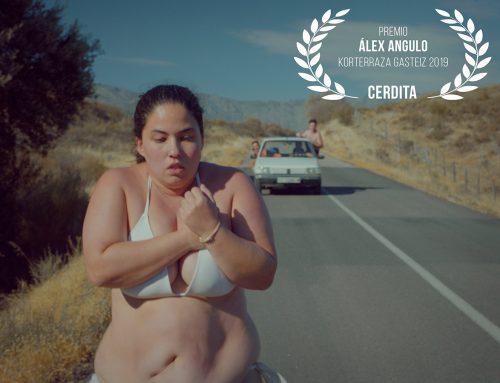 «Cerdita» se lleva el Primer Premio Álex Angulo Saria en Korterraza Gasteiz 2019