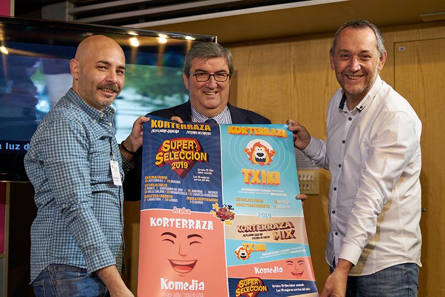 En marcha Korterraza Araba 2019: 31 proyecciones en 28 localidades alavesas